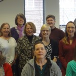 The Writing Center Professionals of Minnesota May 2013 meeting.